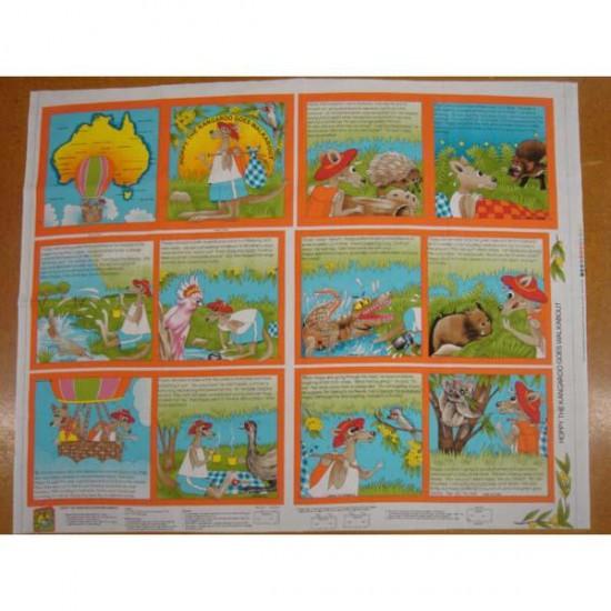 Hoppy the Kangaroo Book Panel