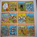 Australia 1,2,3 Book Panel 101 Multi (90cm)