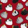 Brite Happy Hens Col. 1 Red