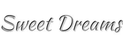 sweet dreams banner