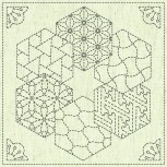 Sashiko Squares - Due Aug/Sept