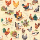 Chicken Talk Col. 101 Cream